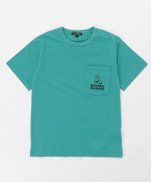 PARANOID LETTER BOX ポケット付きTシャツ【L】