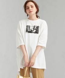 [ 別注 グッドロックスピード ] SC Good Rock Speed × GLR ROBERTA BAYLEY ビッグ Tシャツ