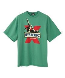 HYS X Tシャツグリーン