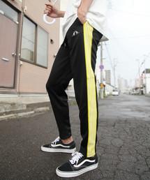 KANGOL(カンゴール)の【別注・コラボ】ZIP FIVE × KANGOL ストレッチサイドラインパンツ(パンツ)