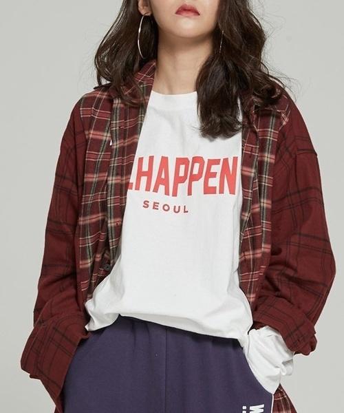 【WHAT HAPPEN】バイオ チェックシャツ