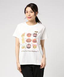 ANPANMAN KIDS COLLECTION(アンパンマンキッズコレクション)の【アンパンマン】パン集合Tシャツ大人(Tシャツ/カットソー)