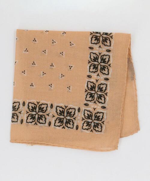 LUIGI&SONS ウール バンダナ ポケットチーフ