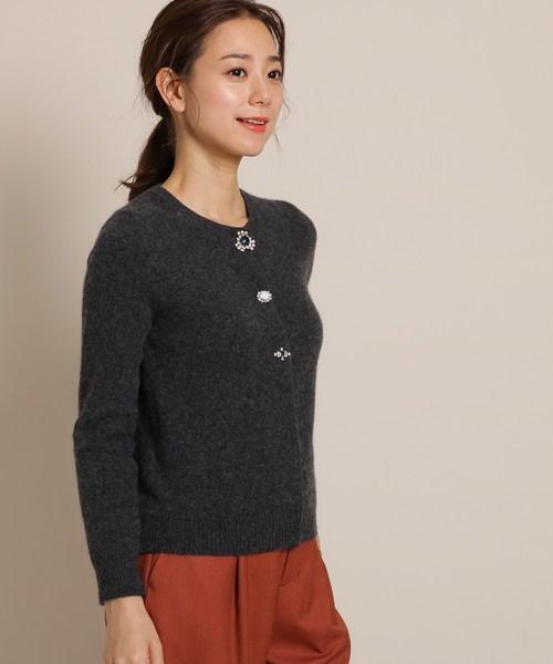 一流の品質 【セール】Pridia*anatelier(プリディアアナトリエ)ブローチボタンカーディガン(カーディガン)|Pridia(プリディア)のファッション通販, オンセングン:c5b92a40 --- blog.buypower.ng