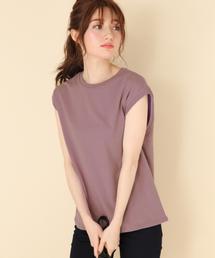 Heather(ヘザー)のコットンベーシックノースリーブ 851394(Tシャツ/カットソー)