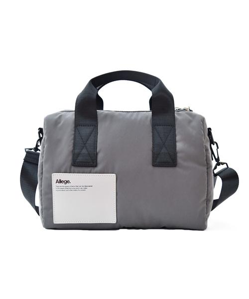 生まれのブランドで ALLEGE / アレッジ Nylon Mini Boston -LORINZA-, INDEEDバッグショップrustica 5cf43fa6