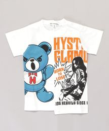GIRL&HALF BEAR Tシャツ【XS/S/M】アイボリー