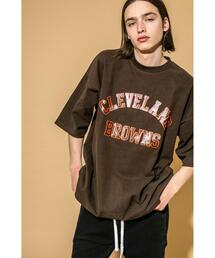 <NFL> Directed by <monkey time> Cleveland Browns/Tシャツ