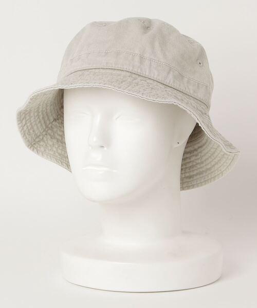 【 NEWHATTAN / ニューハッタン 】 Pigment dyed BUCKET HAT ピグメントダイ バケットハット ‥