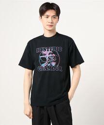 STILL CRAZY刺繍 Tシャツブラック