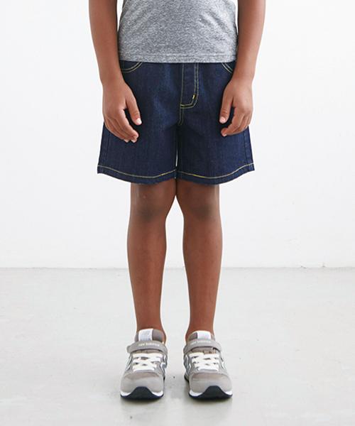 Smoothy Denim Short pants / スムージー  デニムショーツ