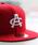 NEW ERA(ニューエラ)の「AVIREX×NEW ERA/アヴィレックス×ニューエラ/9FIFTY SNAP BACK CAP TYPE 'AC'/ ACキャップ(キャップ)」|クリアレッド