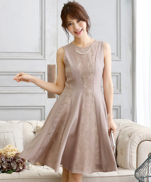 当社の レース切り替えノースリーブドレス・結婚式・お呼ばれワンピース・パーティードレス(ドレス)|PourVous(プールヴー)のファッション通販, 美陽堂 BIYOUDO:a15cf3d2 --- steuergraefe.de