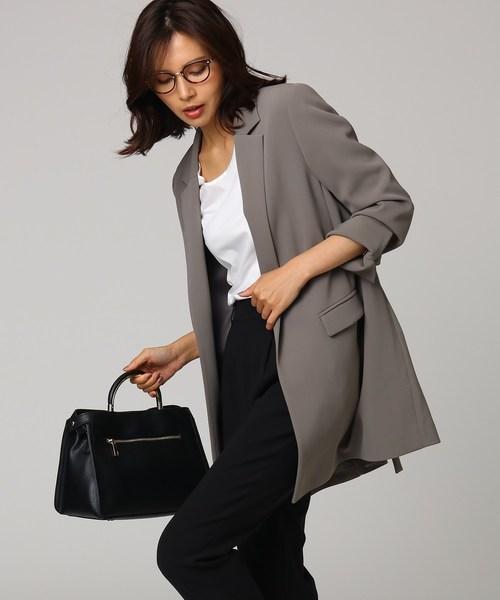 新作人気 [L]レーヨン混ロングジャケット(テーラードジャケット)|UNTITLED(アンタイトル)のファッション通販, ヨコハマシ:6e357a54 --- rise-of-the-knights.de
