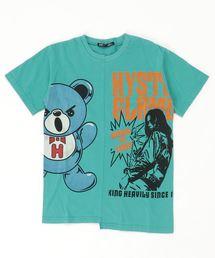 GIRL&HALF BEAR Tシャツ【L】グリーン