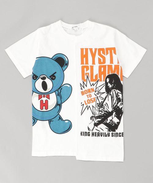 GIRL&HALF BEAR Tシャツ【L】