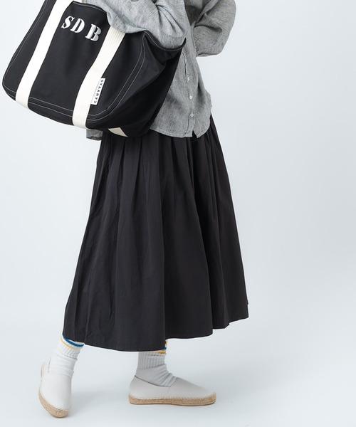 【ubasoku/ウバソク】83丈 裏付タック スカート ub-0027 BNT