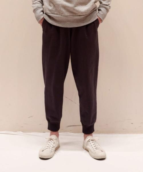 Jackman(ジャックマン)の「Dotsume Sweat Pants(その他パンツ)」 ネイビー