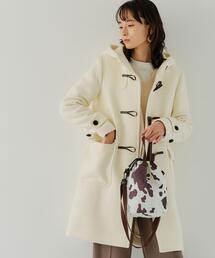 ◆SC ダッフル ロング コート WHITE