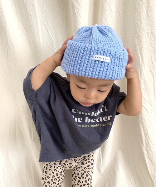 【SANSeLF】 kids knit beanie sank7