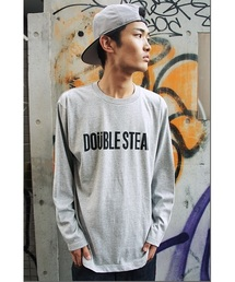 DOUBLE STEAL(ダブルスティール)のSimpleロゴ長袖Tシャツ(Tシャツ/カットソー)