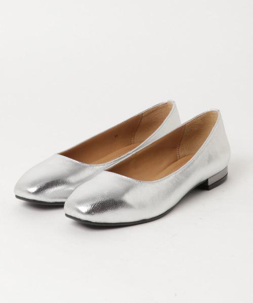 2019高い素材  【セール】【INTER-CHAUSSURES】メタリックヒールスクエアパンプス(I81101)(パンプス)|inter-chaussures(インターショシュール)のファッション通販, カミウケナグン:35df5c62 --- fahrservice-fischer.de