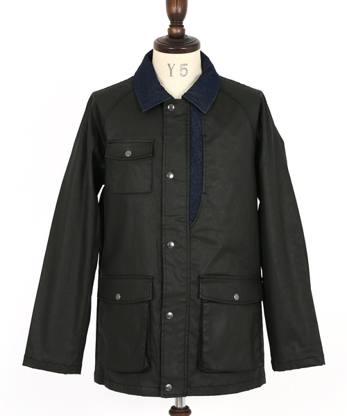 Coating Twill Coverall Jacket