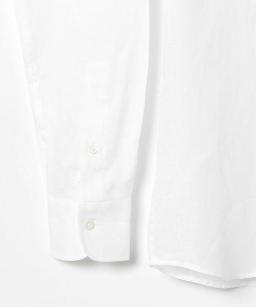 Brilla per il gusto / リネン カッタウェイ ワイドカラーシャツ