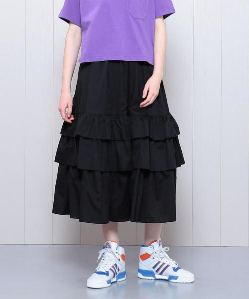 <DEMYLEE>TIERED SKIRT/スカート