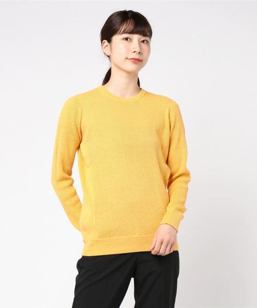 人気 Cotton melange melange waffle waffle top(Tシャツ/カットソー) three|three dots(スリードッツ)のファッション通販, アルマーディオ:802c6915 --- skoda-tmn.ru