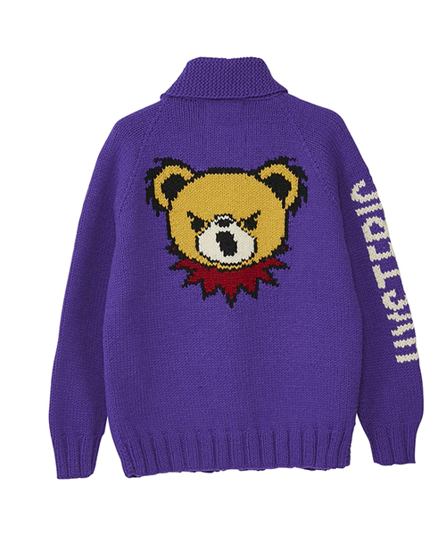 CANADIAN SWEATER×HYSTERIC/HYS BEAR LIVE編込カウチン
