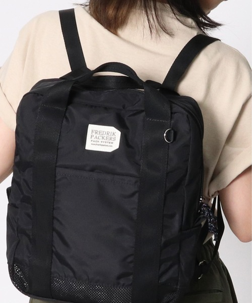 【FREDRIK PACKERS/フレドリックパッカーズ】MESH 420 SQUARE BACK PACK