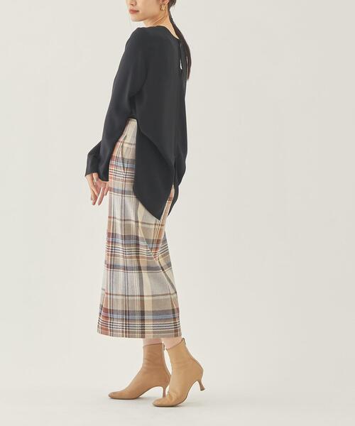 【EMMEL REFINES】EM バリチェック スカート2
