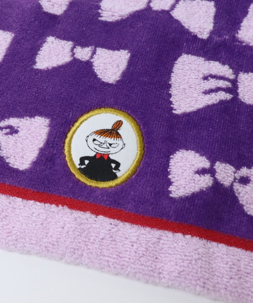 【 MOOMIN / ムーミン 】リトルミイのリボン タオルハンカチ 47-2260060 towel TOB