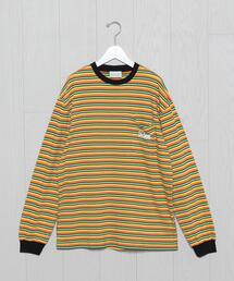 <Aries>STRIPE LONG SLEEVE T-SHIRT/Tシャツ.
