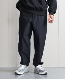 <H>NYLON BALLOON TAPERED PANTS/パンツ