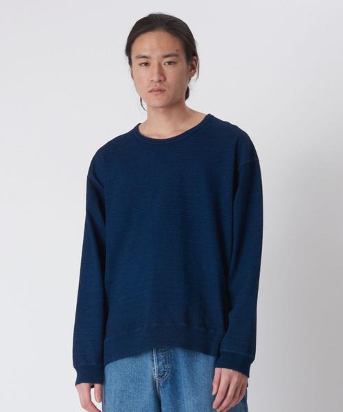 KURO / クロ / スウェット / INDIGO CREW NECK SWEAT