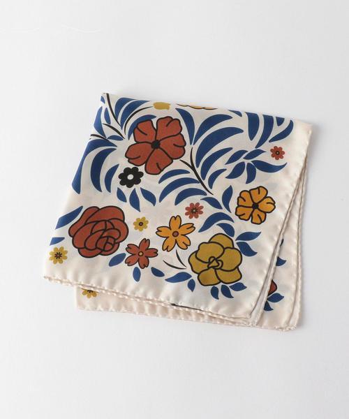 [ニッキ—] ★NICKY SETA FLOWER ポケットチーフ