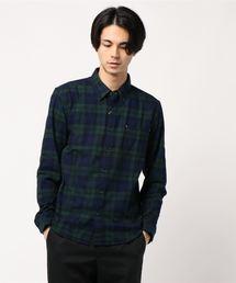 ikka(イッカ)のオーガニックネルチェックシャツ(シャツ/ブラウス)