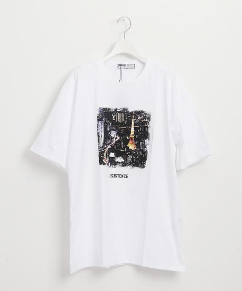 """EXISTENCE"" クルーネックTシャツ"