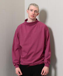<H>MANTA HIGH NECK PULLOVER/プルオーバー