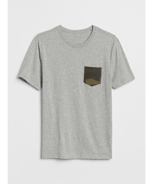 ロゴグラフィック半袖ポケットTシャツ