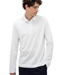 LACOSTE(ラコステ)のレギュラーフィット ストレッチ パリポロシャツ (長袖)(ポロシャツ)
