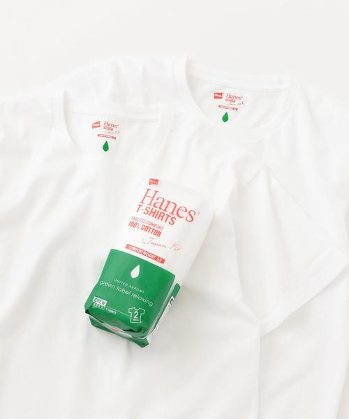 別注 [ヘインズ]SC Hanes JAPAN FIT / パックT / Tシャツ <2枚組み>