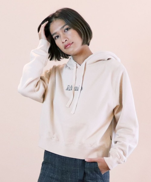 【Afends/ アフェンズ】CROPPED BOYFRIEND PULL ON HOOD W192511-193