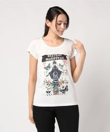 NIAGARA/DAM FLOWER Tシャツホワイト
