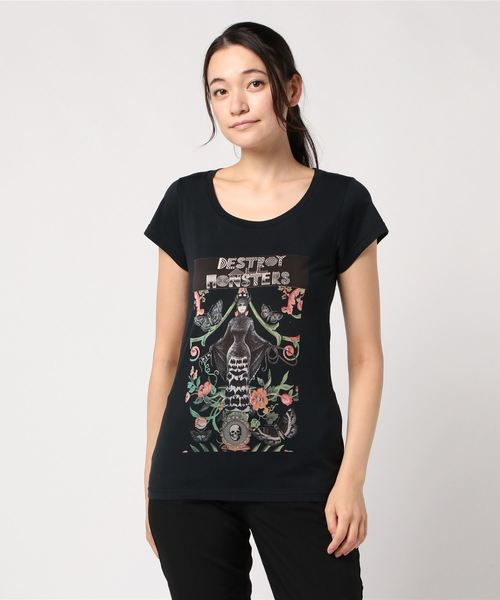 NIAGARA/DAM FLOWER Tシャツ