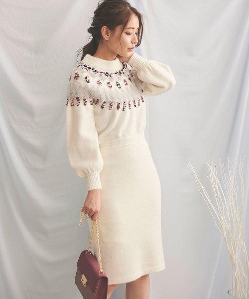 高速配送 求心柄タイトニットワンピース(ワンピース) Noela(ノエラ)のファッション通販, 陶磁器会館:52c74c32 --- ulasuga-guggen.de