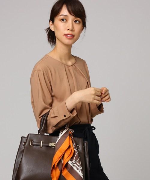 海外ブランド  ヴィンテージツイストクルーネックブラウス(シャツ/ブラウス)|UNTITLED(アンタイトル)のファッション通販, 葱や けんもち:cd253a6b --- ulasuga-guggen.de