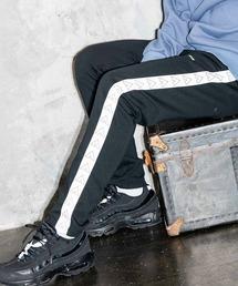 【BASQUE -enthusiastic design-】AIRWALK エアウォーク BASQUE magenta 別注 サイドラインパンツブラック系その他